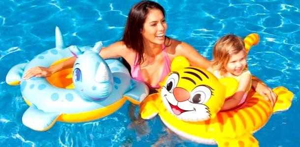 Як вибрати плавальний круг для дитини? фото