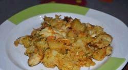 Картопля тушкована з куркою. Популярні рецепти фото