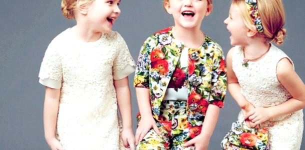 Kids Fashion: квітковий принт - яскравий тренд літа 2014