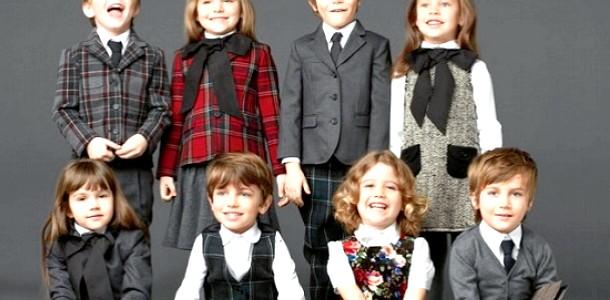 Kids Fashion: шкільна форма від Dolce & Gabbana (ФОТО) фото