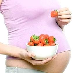 Полуниця при вагітності