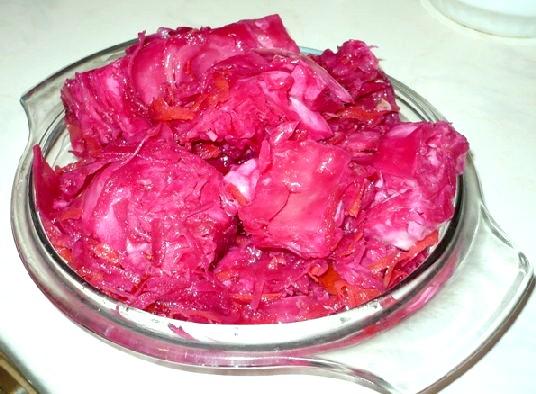 Корейські салати, Капуста по-корейськи