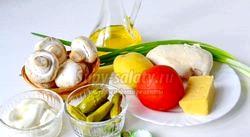 Крекери з салатом з курки до Нового року. Рецепт з покроковими фото