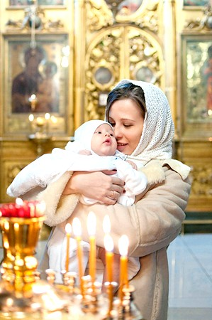 Хрещення дитини у православній церкві