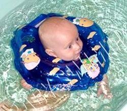 Коло для купання немовлят