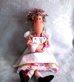 Лялька Тільда. Домогосподарка. Майстер-клас фото