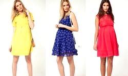 Літні сукні для вагітних - краса і зручність