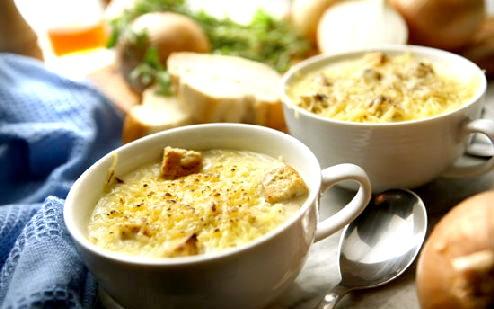 Цибульний суп французький рецепт