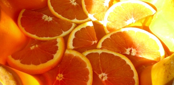 Майстер-клас: картини з апельсинів