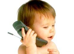 Мобільний телефон і дитина