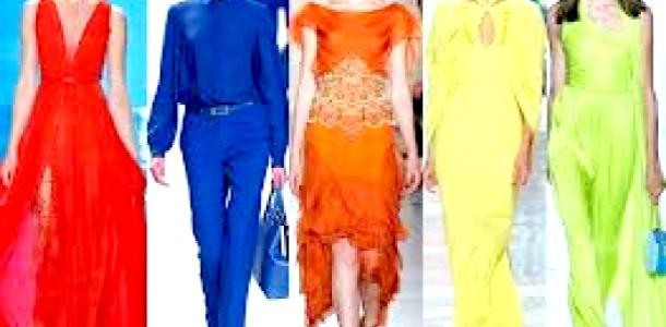 Модні кольори весни і літа 2013 року (відео)