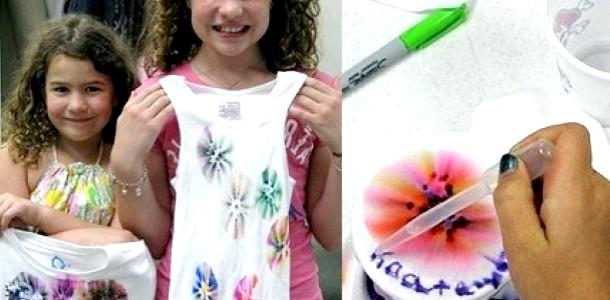 Модні ідеї: фарбуємо тканини (відео)