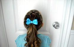 Модні зачіски для дівчаток