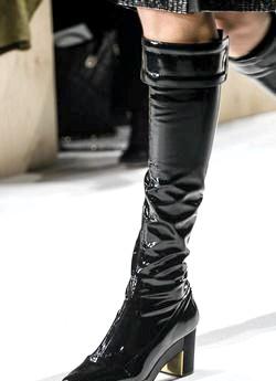 Модні жіночі чоботи 2014