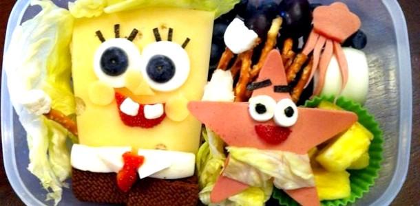 Мультяшний обід: ідеї для шкільного ланчу (ФОТО)