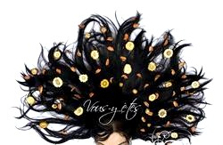 Народні маски для росту волосся