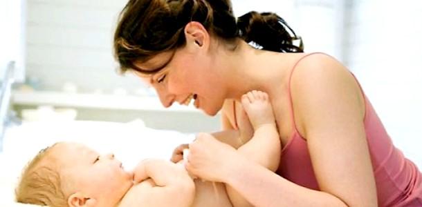 Невелика гімнастика після масажу дитини від 1,5 до 3 місяців