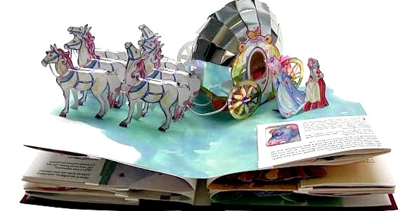 Об'ємні і тривимірні дитячі книги (ФОТО)