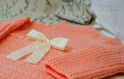 Одяг в'язаний гачком. Пуловер для дівчинки