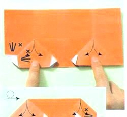 Орігамі. Крот Могура. Майстер клас з покроковим фото
