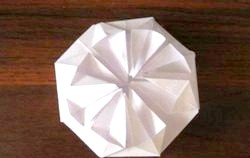Орігамі. Об'ємна листівка для мами. Майстер клас з покроковий фото