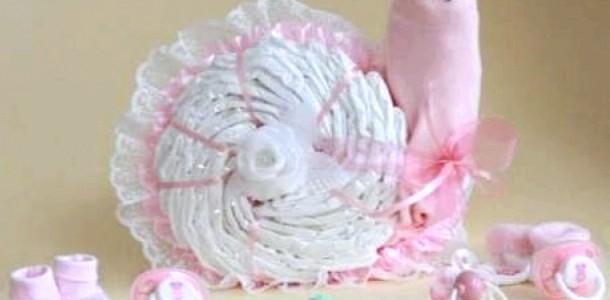 Оригінальне оформлення подарунка для новонародженого (ФОТО)