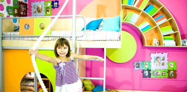 Оригінальні книжкові полички для дитячої (ФОТО)