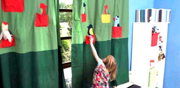 Оригінальний дизайн вікна у дитячій (ФОТО)