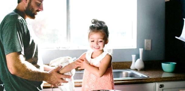 Особливо зворушливо: тато і дочка (ФОТО) фото