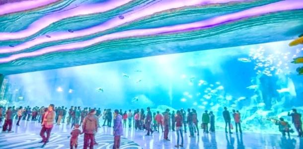 Відкрився найбільший океанаріум в світі (ФОТО)