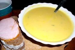 Овочевий суп пюре рецепт