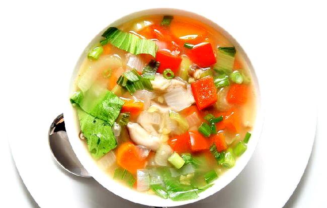 Овочевий суп фото