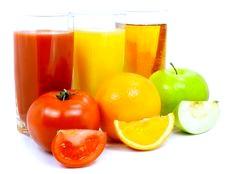Овочеві і фруктові соки