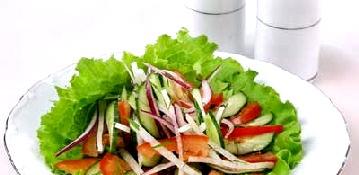 Овочеві салати