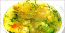 Овочеві супи для дітей фото