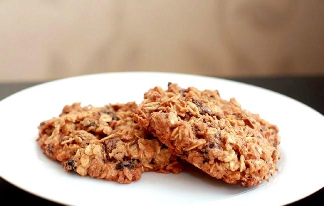 Печиво з вівсяних пластівців фото