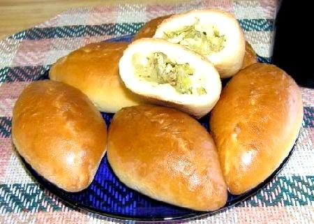 Пиріжки з капустою фото