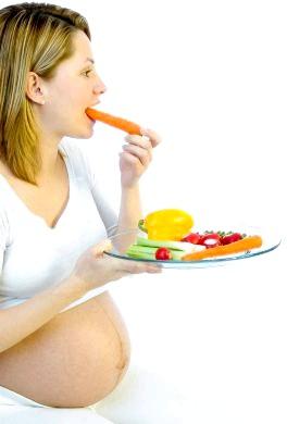 Харчування при вагітності по тижнях