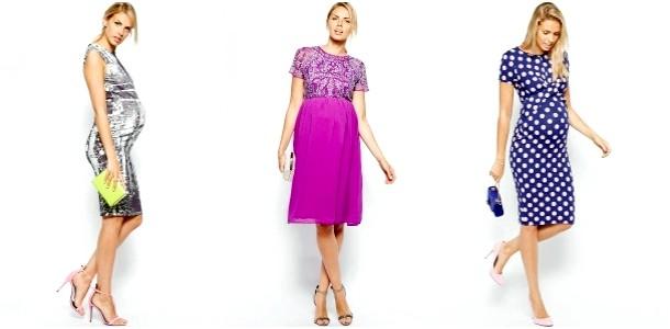 Сукні для вагітних на Новий рік (ФОТО)