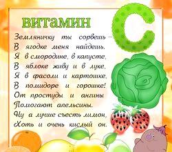 Користь вітамінів для дітей