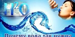 Користь води для людського організму