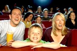 Відвідування дитячого кіносеансу