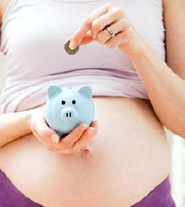 Посібник та виплати по вагітності та пологах молодій мамі в 2013-2014 році