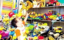 Придбання дитячих іграшок в інтернет магазині