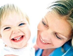 Прорізування зубів фото