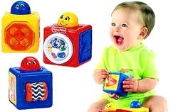 Розвиваючі іграшки від 0 до 6 місяців