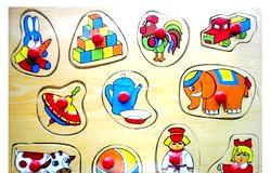 Розвиваючі ігри для дитини в 2 рочки