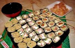 Рецепт суші в домашніх умовах