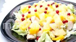 Рецепти салатів з кури