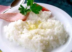 Рисова каша. Користь
